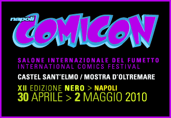 napoli comicon Absoluteblack a Napoli Comicon!